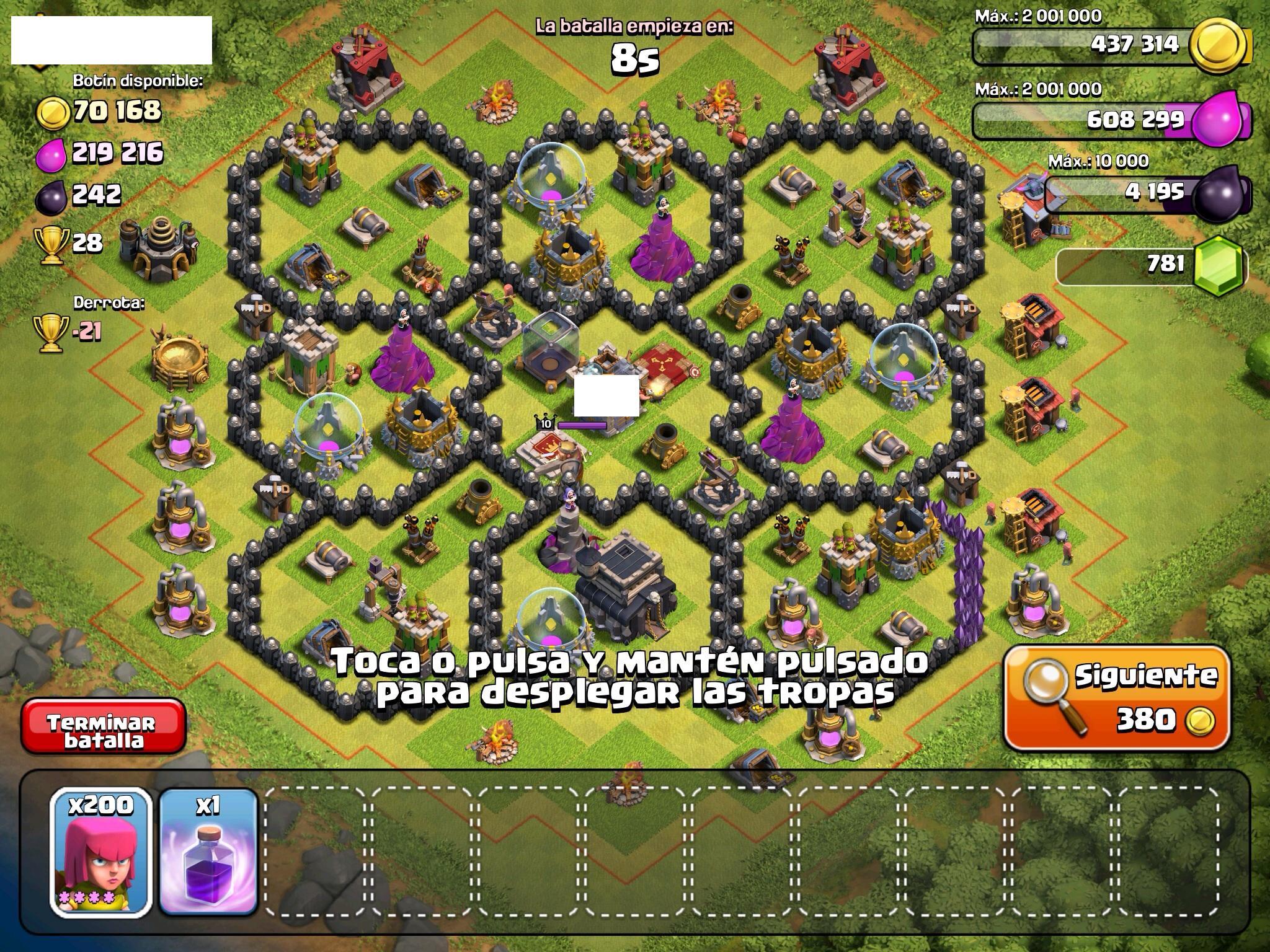 Diseño de aldeas - Guia Clash of Clans