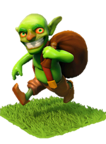 duende del Clash of Clans