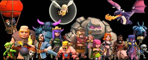 personajes clash of clans
