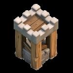 torre de arqueras nivel 6