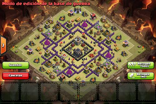 Diseño de aldea COC 1
