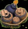 Conjunto de explosivos nivel 1 y 2