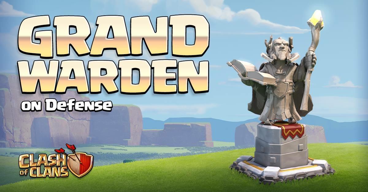 Grand Warden defensivo