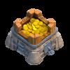 Almacén nivel 7 de oro